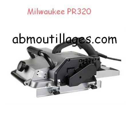 Milwaukee rabot de charpente pr320