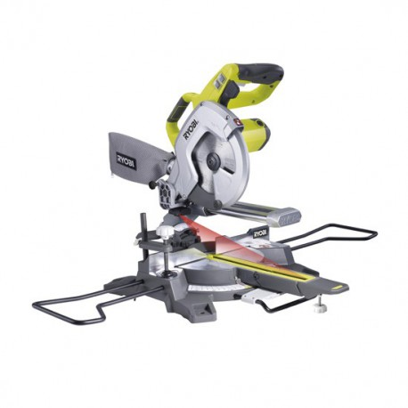 Ryobi Scie à coupe d'onglet radiale EMS 216L