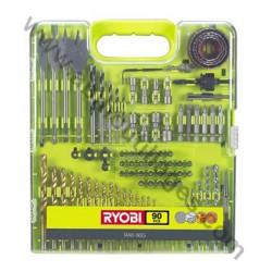 RYOBI Coffret 90 accessoires RAK90G