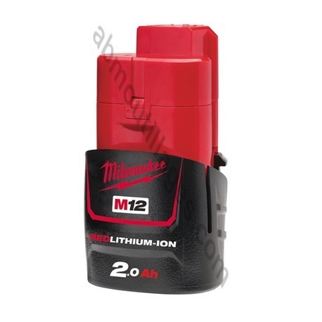 Milwaukee batterie M12B2 - 12V / 2.0Ah Li-Ion