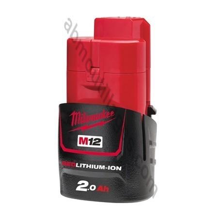 Milwaukee batterie M12B2 - 12V / Li-Ion