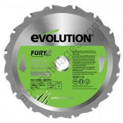 Evolution lame multi-usages FURY 185 mm