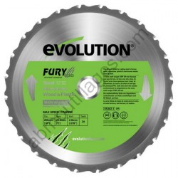 Evolution lame multi-usages FURY 255 mm