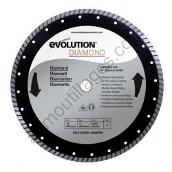 Evolution Disque diamant FURY 355mm