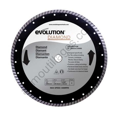 Evolution Disque diamant FURY 355mm
