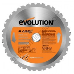 Evolution lame multi-usages RAGE 185mm