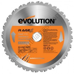 Evolution lame multi-usages RAGE 210mm