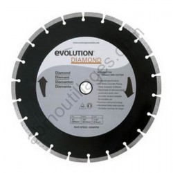 Evolution Disque diamant RAGE 305mm