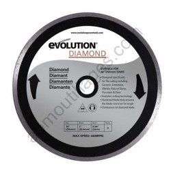 Evolution Disque diamant RAGE 255mm