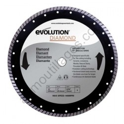 Evolution Disque diamant RAGE 355mm