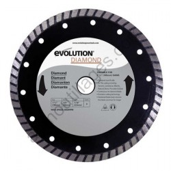 Evolution Disque diamant RAGE 185mm