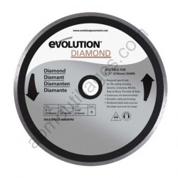 Evolution Disque diamant RAGE 210mm