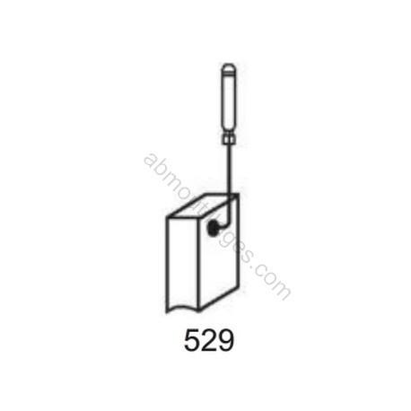 Charbons 1199-03 pour meuleuses Bosch