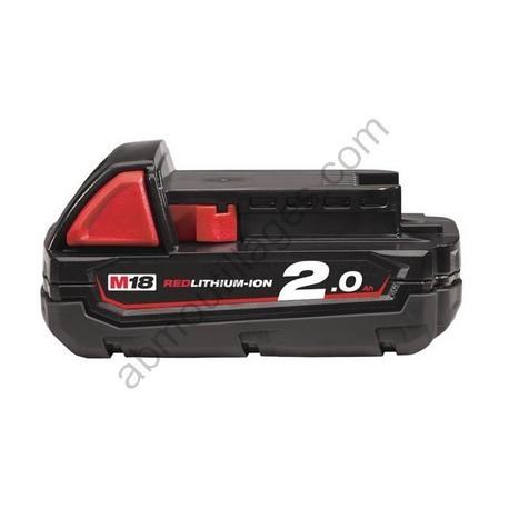 Milwaukee batterie M18 B2 2.0 Ah Li-Ion