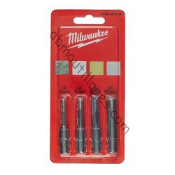 Milwaukee set de 4 forets diamant