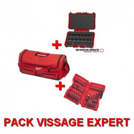Milwaukee pack de vissage EXPERT