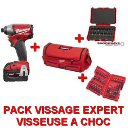 Milwaukee pack visseuse à choc 18V FUEL EXPERT
