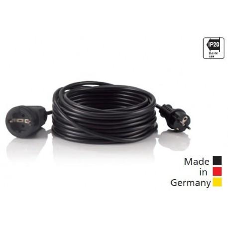 HEDI Rallonges en PVC noir