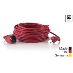 HEDI Rallonges en PVC rouge
