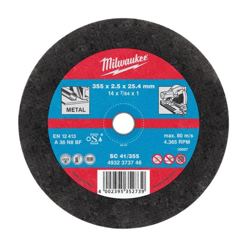 milwaukee disque tronconner 355 mm. Black Bedroom Furniture Sets. Home Design Ideas