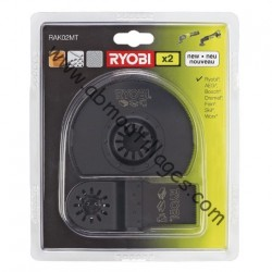 Ryobi kit coupe rak02mt 2 pcs multitool