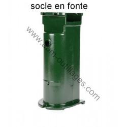 Socle en fonte pour pompe retro