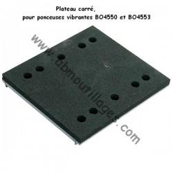Makita plateau carré pour ponceuse BO4550 et BO4553
