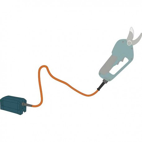 MAKITA Câble de raccordement pour sécateur 4603DW