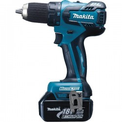 MAKITA perceuse / visseuse sans fil BDF459RFJ 18 V Li-Ion 3 Ah Ø 13 mm
