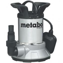 Metabo pompe immergée à aspiration plate pour eau claire TPF6000SN