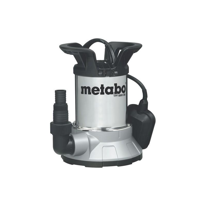 metabo pompe immerg e aspiration plate pour eau claire tpf6000sn. Black Bedroom Furniture Sets. Home Design Ideas