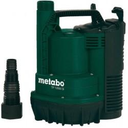 Metabo pompe immergée à aspiration plate pour eau claire TP12000SI