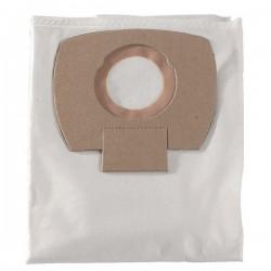 Metabo 5 sacs filtrants en fibre pour aspirateur ASA 25L PC et ASA 30L PC inox