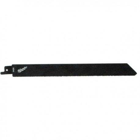Milwaukee lame de scie sabre pour matériaux abrasifs / fonte / fibre de verre 230 mm