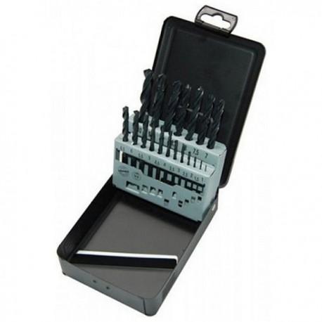 AEG Coffret 19 forets métaux laminés (HSS-R) DIN 338