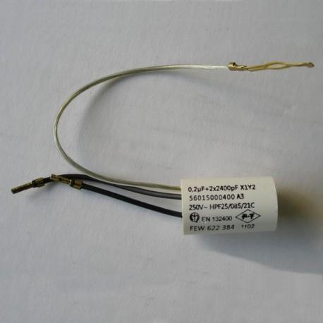 Condensateur 0,2 µF pour perceuse AEG et MILWAUKEE