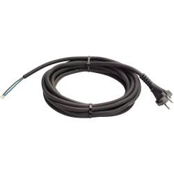 Câble d'alimentation universel caoutchouc 4 mètres