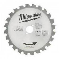 Milwaukee Lame de scie Ø 216 mm 24 dents
