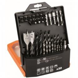 AEG coffret 50 accessoires de percage et vissage 4932430411