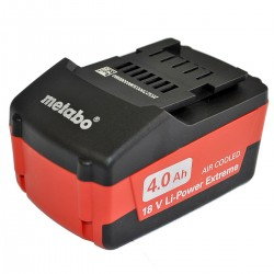 Metabo batterie 18 volt /4.0 Ah Li-Ion