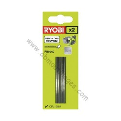 Ryobi jeu de lames pour rabot de 50mm