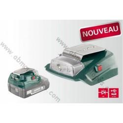 Metabo adaptateur électrique sans fil de 14.4-18 volts