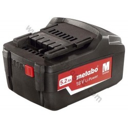Metabo batterie 18 volt /5.2 Ah Li-Ion