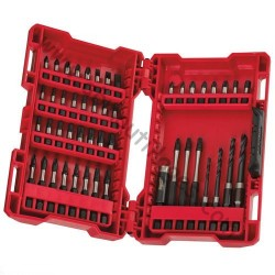 Milwaukee coffret 48 embouts de vissage