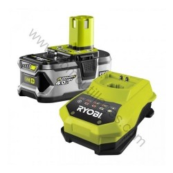 RYOBI RBC18L40G 1 batteries Lithium-Ion 18 V (4,0 Ah) + super chargeur