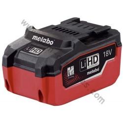 Metabo batterie LiHD 18 volt / 5.5 Ah