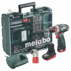 Metabo Powermaxx BS 10.8 Volt Quick pro plus coffret