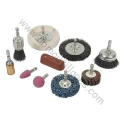 Kit 10 pièces de nettoyage et polissage