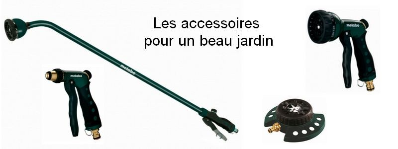 Les accessoires pour un beau jardin